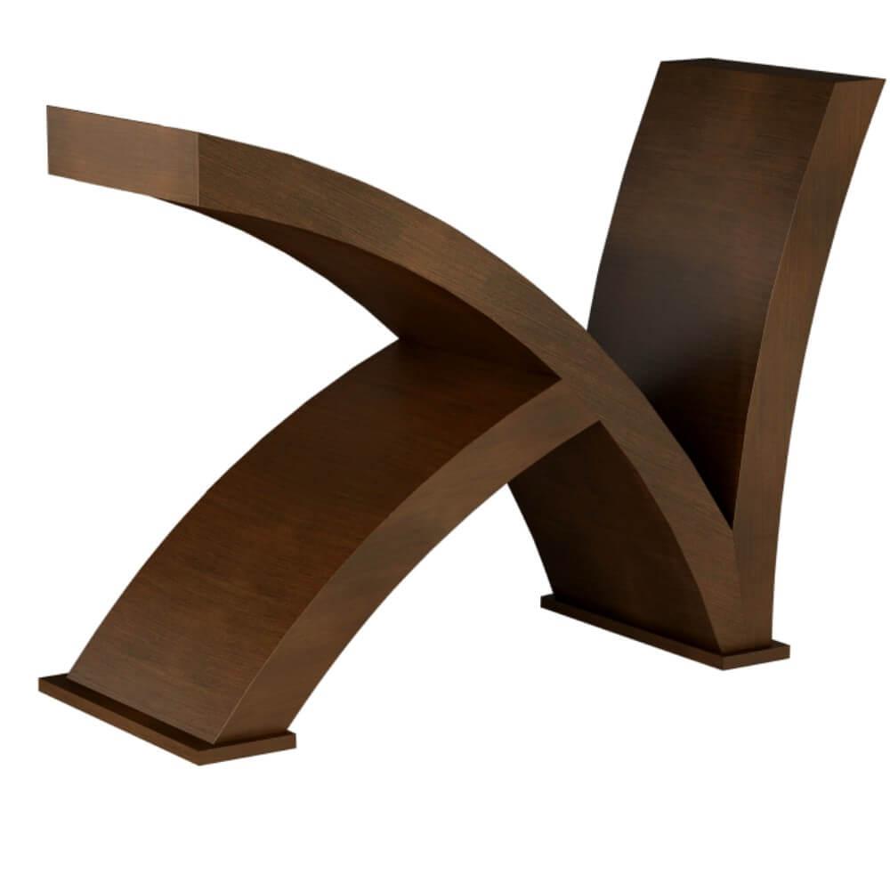 Base mesa jantar k tommy design r 700 00 em mercado livre for Bases para mesas de centro