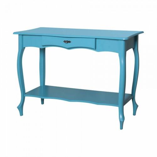 Aparador Grande Luis Xv Azul Com Prateleira - Tommy Design