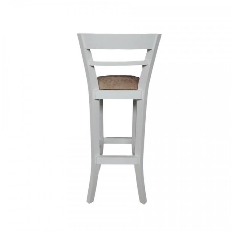 Banqueta Alta Europa - Branco - Tommy Design
