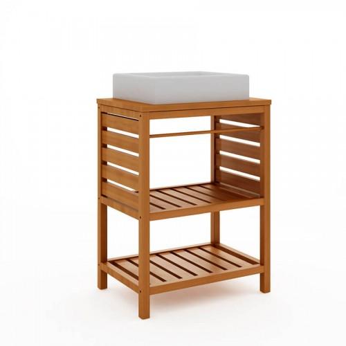 Bancada Ripada Aquiles Jatobá - Tommy Design
