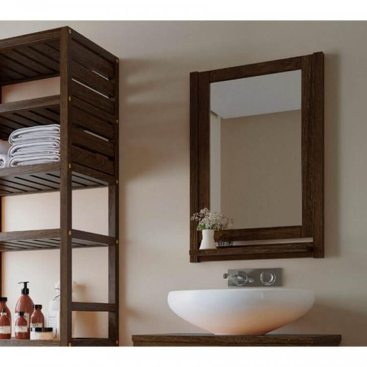 Moldura Espelho Aquiles Nogueira - Tommy Design