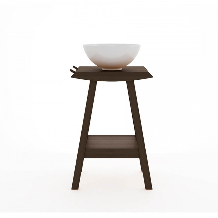 Bancada Borneo 75X53 Nogueira - Tommy Design