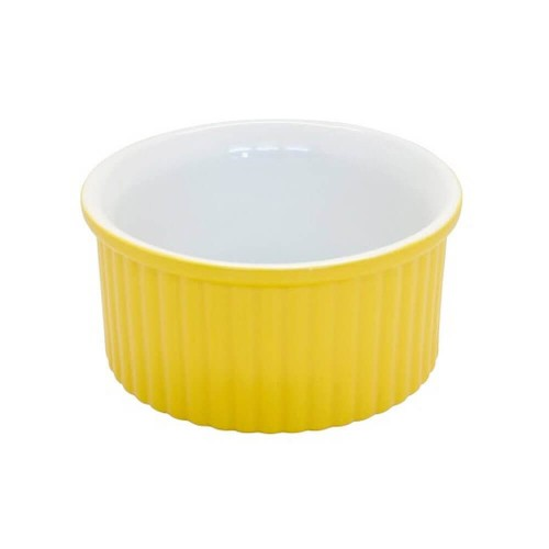 Tigela Ramequim 6Cm Amarela - Mondoceram - Tommy Design