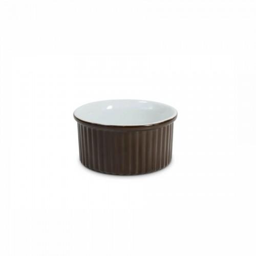 Tigela Ramequim 8Cm Chocolate - Mondoceram- Tommy Design