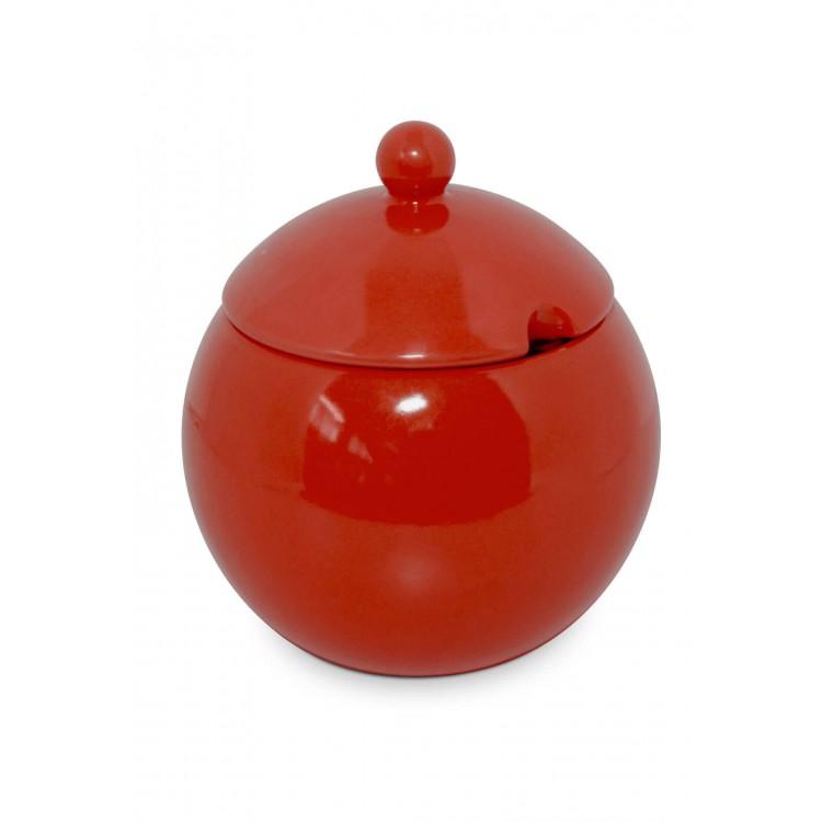 Açucareiro Vermelho - Mondoceram - Tommy Design