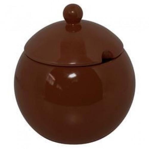 Açucareiro Chocolate - Mondoceram - Tommy Design