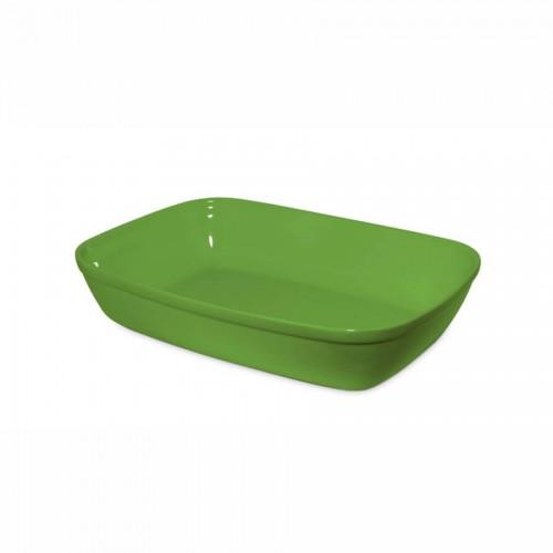 Assadeira  31X20Cm - 2200Ml Verde - Mondoceram - Tommy Design