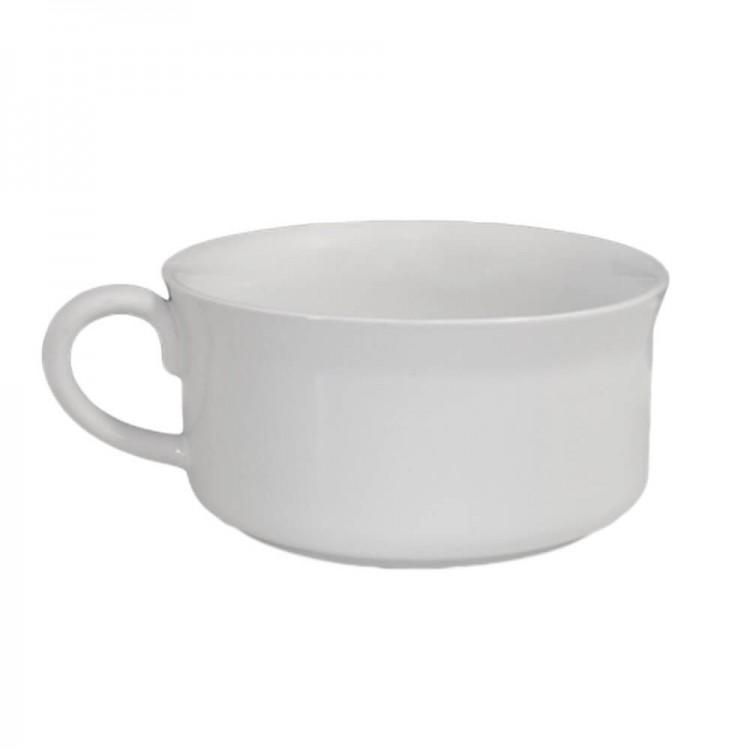 Caneca de Sopa 350Ml - Branca - Mondoceram - Tommy Design