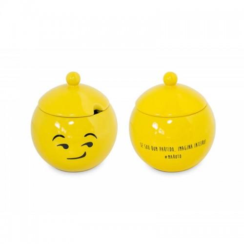 Açucareiro Amarelo - Maroto - Linha Diverticon - MondoCeram - Tommy Design
