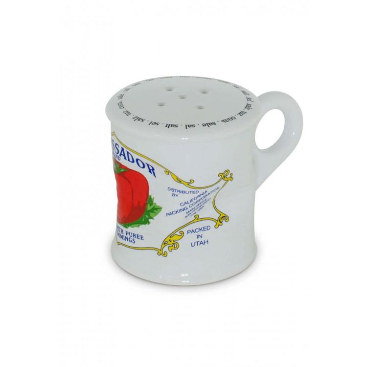 Pimenteiro Lata Amassada 90Gr - Vermelho - MondoCeram - Tommy Design