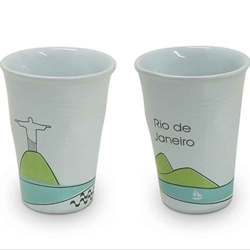 Copo Plastic 240Ml Rio de Janeiro - MondoCeram - Tommy Design