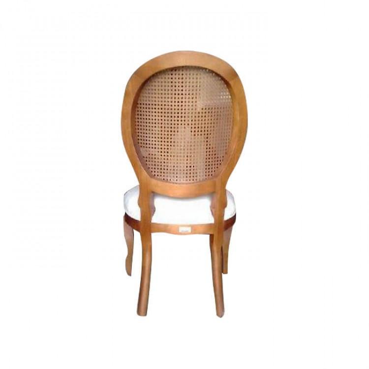 Cadeira Medalhão Sem Braço com Palha - Tommy Design