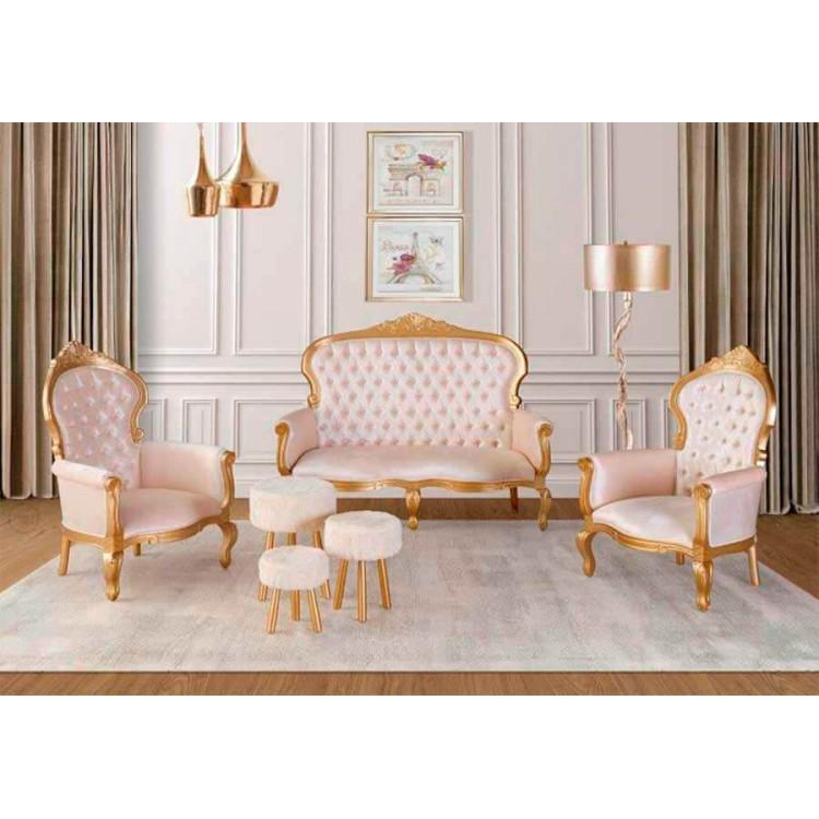 Poltrona Catarina - Dourada - Tommy Design