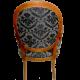 Poltrona Medalhão Lisa - Imbuia - Tommy Design