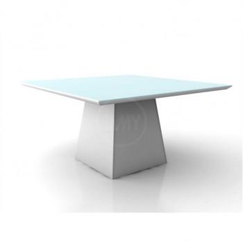 Mesa de Jantar Málaga Branco Tp 220X110 - Tommy Design