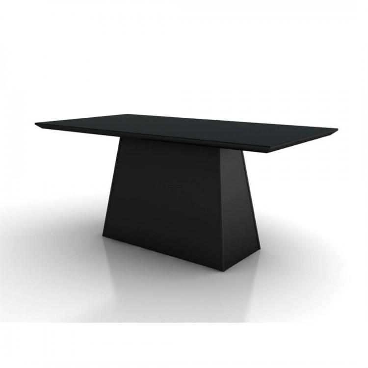 Mesa de Jantar Málaga Preto Tp 200X100 - Tommy Design