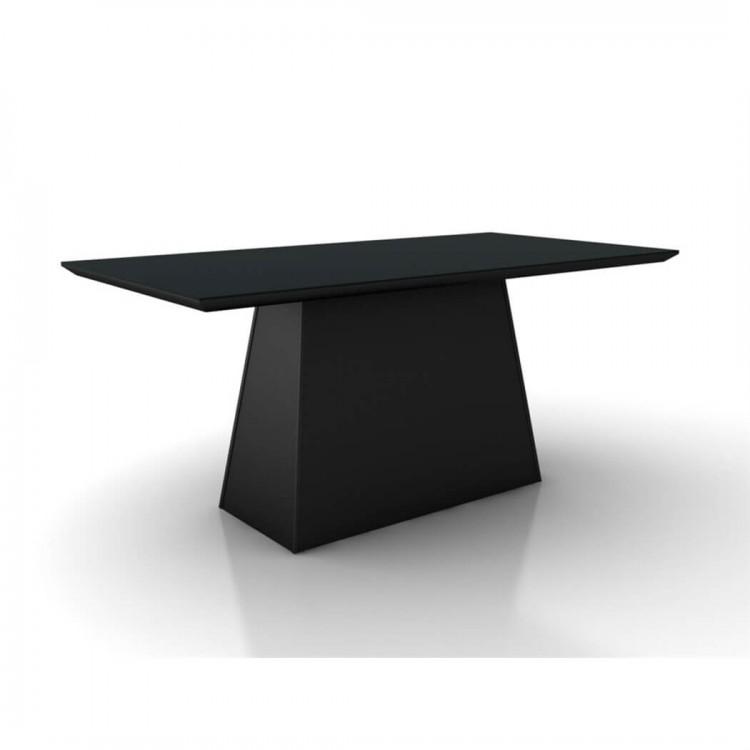 Mesa de Jantar Málaga Preto Tp 220X110 - Tommy Design
