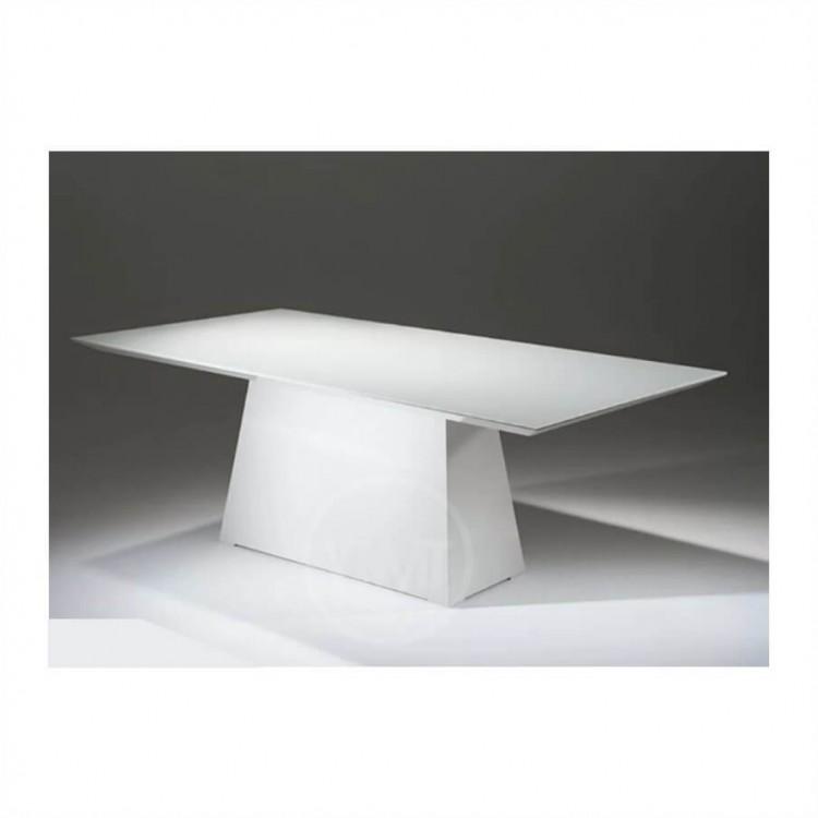 Mesa de Jantar Málaga Branco Tp 200X100 - Tommy Design