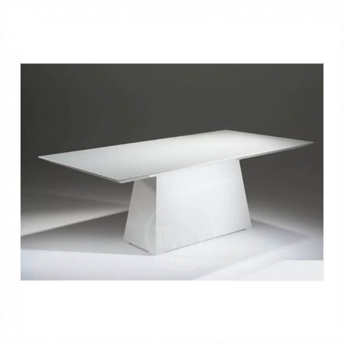 Mesa de Jantar Málaga Branco Tampo160X100 - Tommy Design