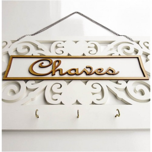 Porta Chave Floral - Tommy Design