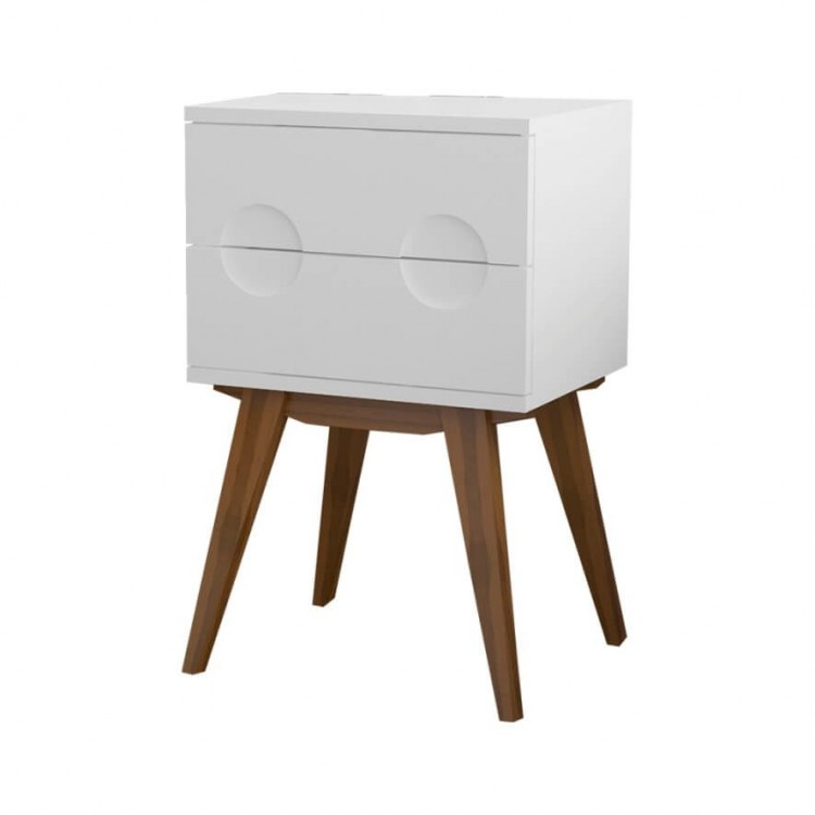 Criado Mudo Félix - Branco - Tommy Design