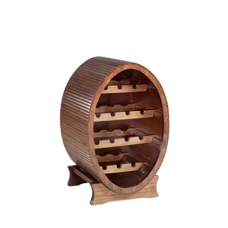 Adega Porto Grande - Barril Oval - Tommy Design
