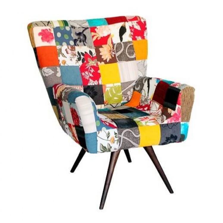 Poltrona Tyffani Patchwork - Tommy Design