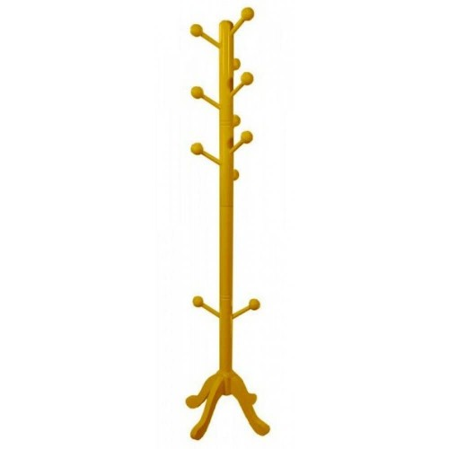 Cabideiro Vertical - Amarelo -Tommy Design