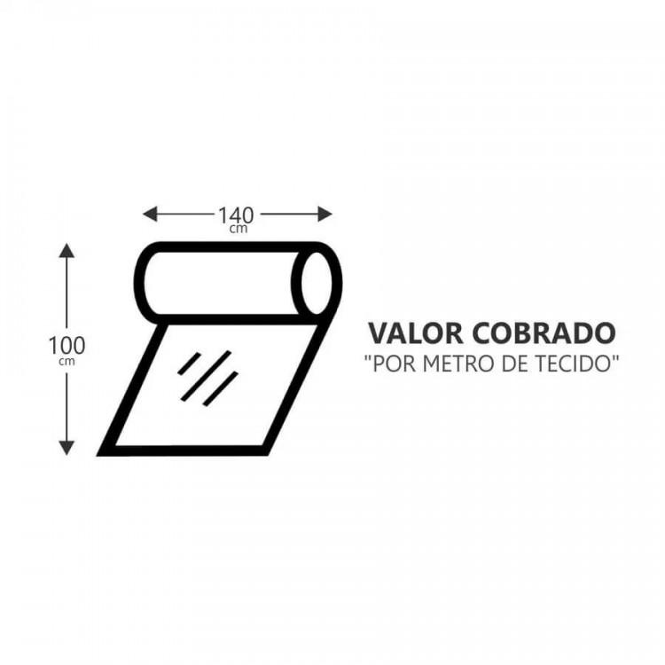 Tecido Torck Velu - Cinza - Tommy Design