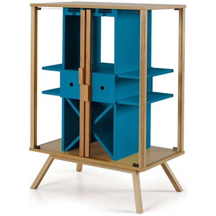 Adega Mystic Azul - Tommy Design