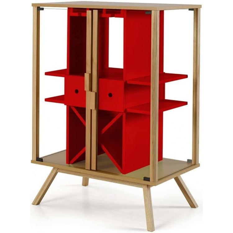Adega Mystic Vermelho - Tommy Design