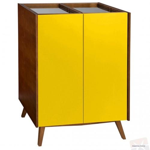Adega Novita Amarelo - Tommy Design