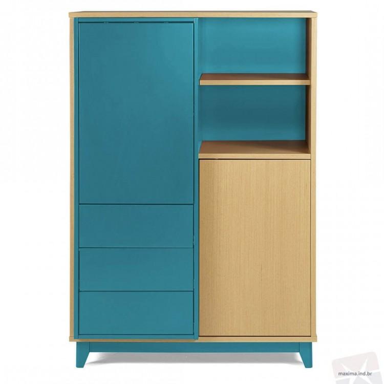 Adega Quadrato Azul - Tommy Design