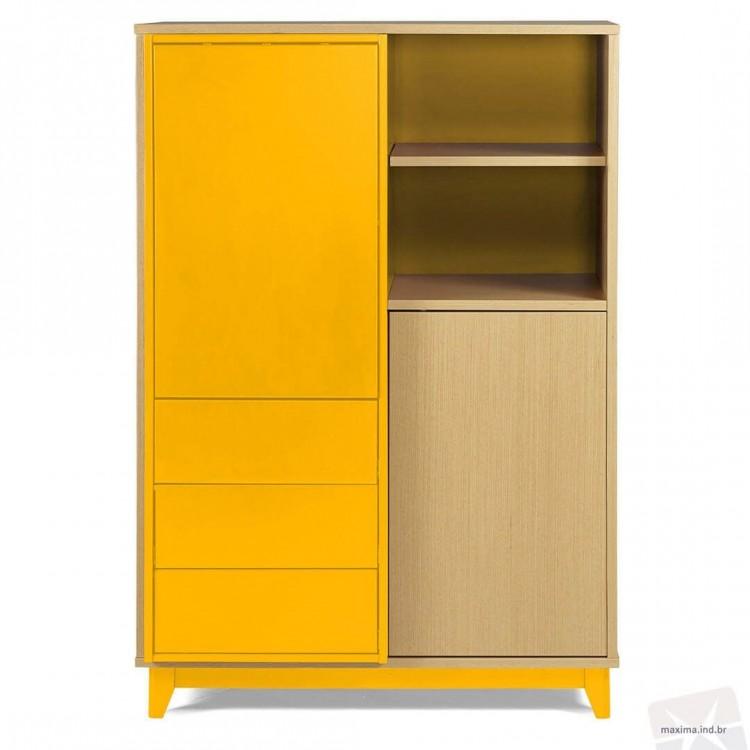 Adega Quadrato Amarelo - Tommy Design