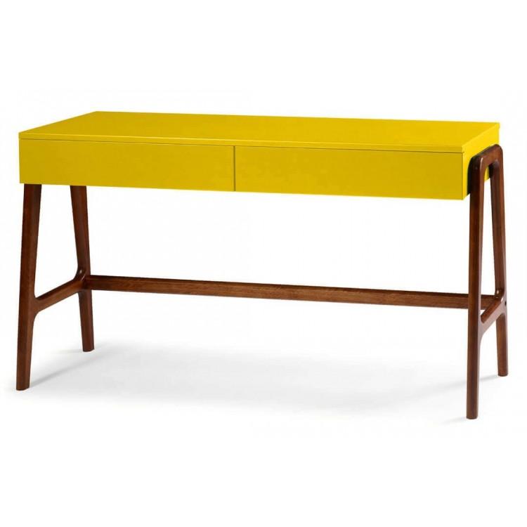 Aparador Rush 2 Gavetas Amarelo - Tommy Design