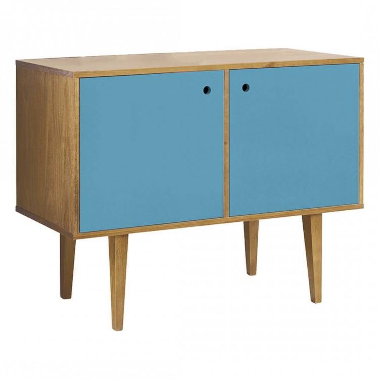 Buffet Vintage 2 Portas Azul - Tommy Design
