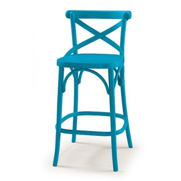 Banqueta X Azul - Tommy Design