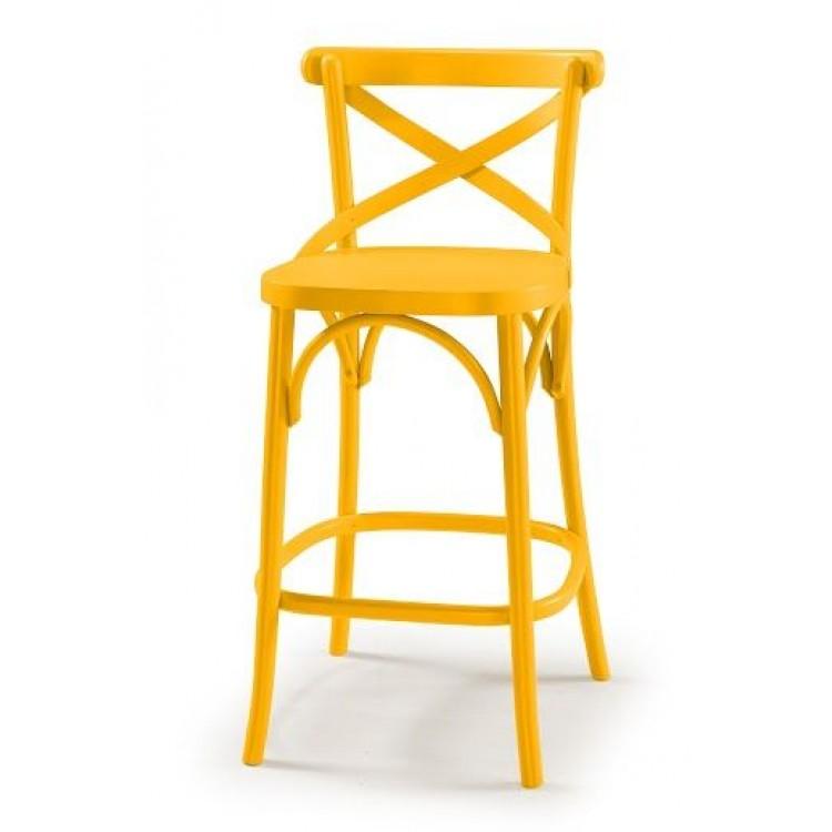 Banqueta X Amarela - Tommy Design