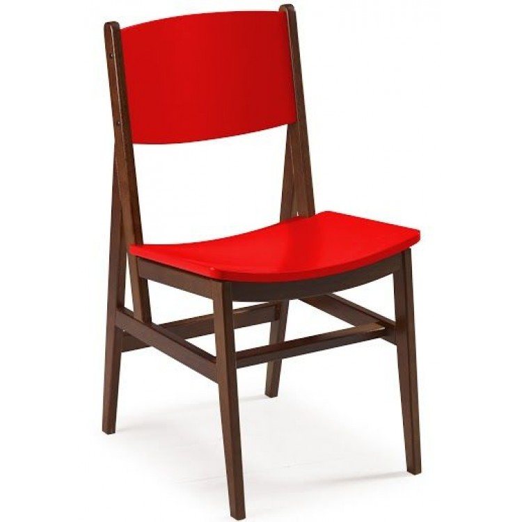 Cadeira Dumon - Vermelho - Tommy Design
