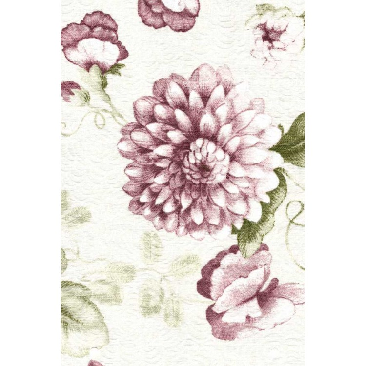 Tecido Floral Caroline Uva - Art Decor - Tommy Design