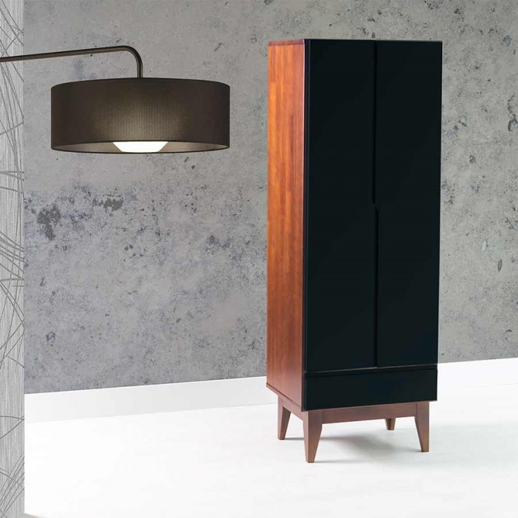 Sapateira Elegance Pinhão - Preto - Tommy Design