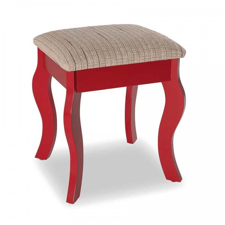 Banqueta Status - Vermelho - Tommy Design