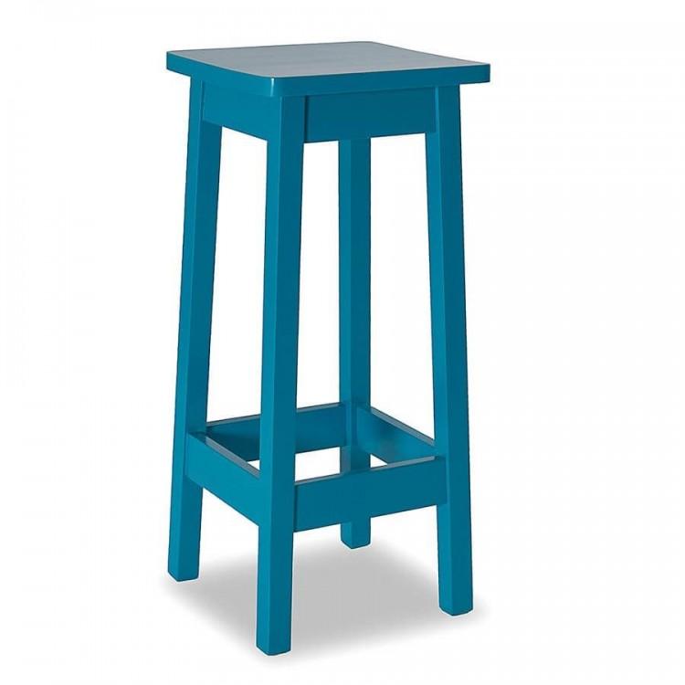 Banqueta de Bar Julis - Azul - Tommy Design