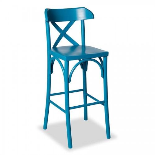 Banqueta Paris - Azul - Tommy Design