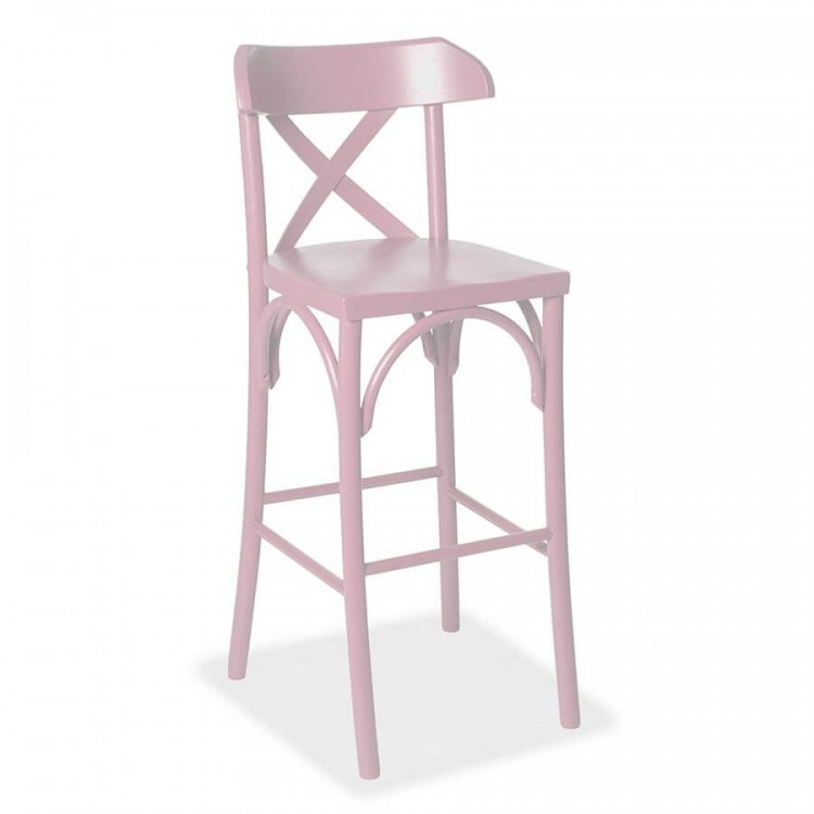 Banqueta Paris - Rosa - Tommy Design