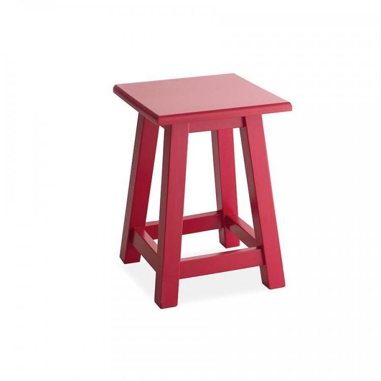 Banquinho - Vermelho - Tommy Design