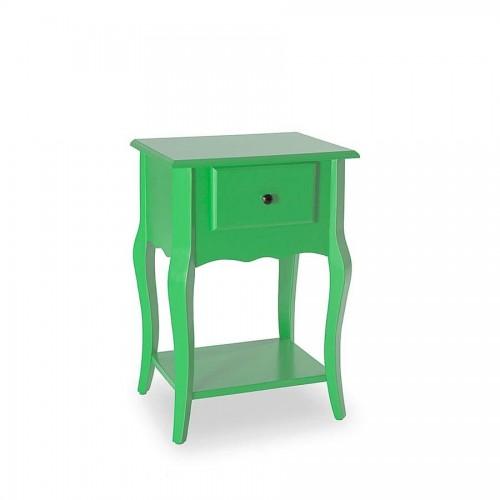 Mesa Lateral Status Rubi - Verde - Tommy Design