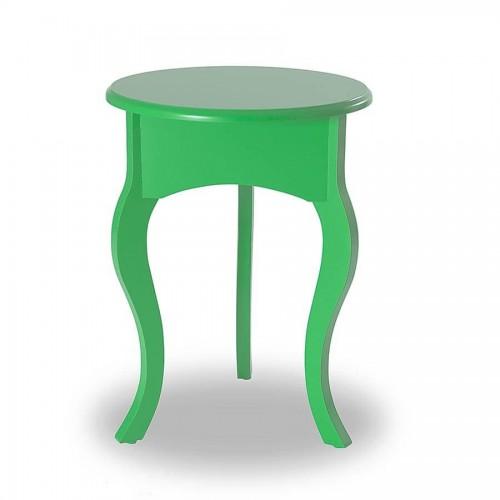 Mesa de Canto Tripé Baixa - Verde - Tommy Design