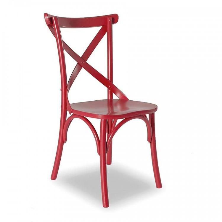 Cadeira Paris - Vermelho - Tommy Design