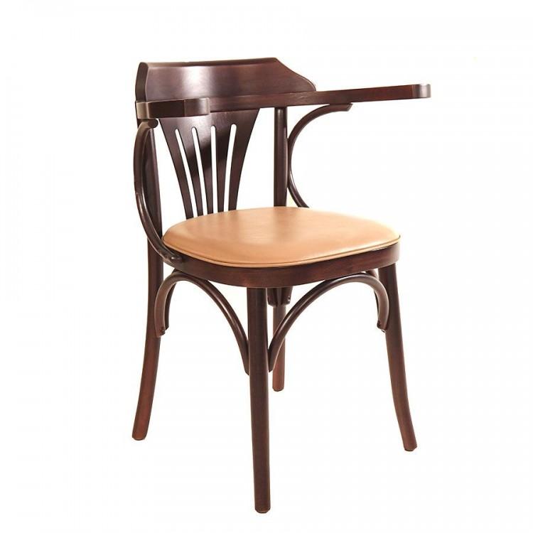 Cadeira Opzione com Braço - Acento Amarelo - Tommy Design